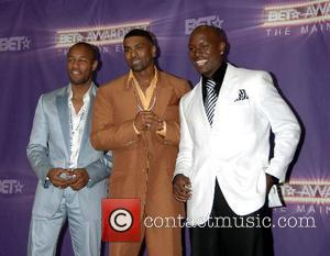 Tank, Ginuwine, and Tyrese Gibson  B.E.T.Awards 2007 held at The Shrine - Press Room Los Angeles, California - 26.06.07