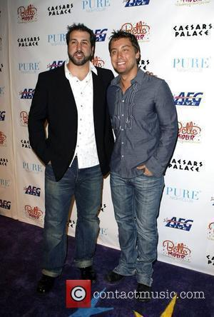Joey Fatone and Lance Bass