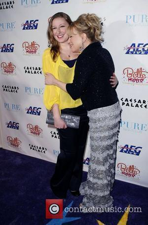 Bette Midler and Her Daughter Sophie Von Haselberg