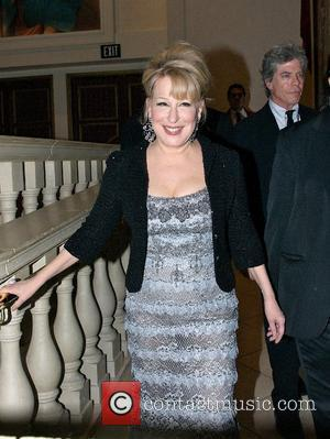 Bette Midler  arrives at the aftershow party for 'The Showgirl Must Go On' opening night at Caesars Palace Las...