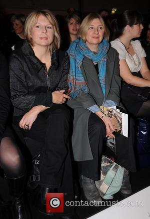 Jennifer Saunders and Victoria Wood London Fashion Week Autumn/Winter 2008 - Betty Jackson - Front Row London, England - 12.02.08