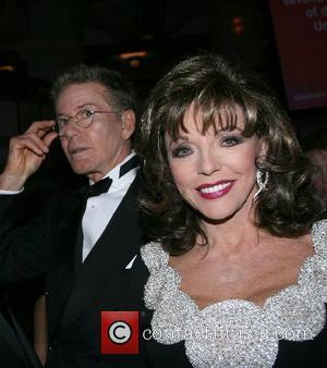Calvin Klein and Joan Collins Bewitch, Bothered & Bewildered - 2007 Alzheimer's Association Rita Hayworth Gala New York City, USA...