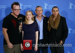 Tom Arnold, Gillian Jacobs, Damian Harris and Evan Ross