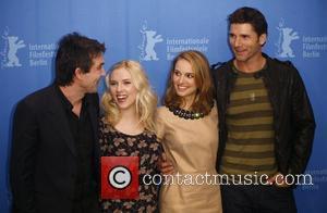 Justin Chadwick, Eric Bana, Natalie Portman and Scarlett Johansson