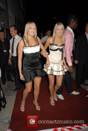 Samantha Marchant, Amanda Marchant Big Brother 8 wrap party held at EGG Nightclub - Arrivals London, England - 03.09.07