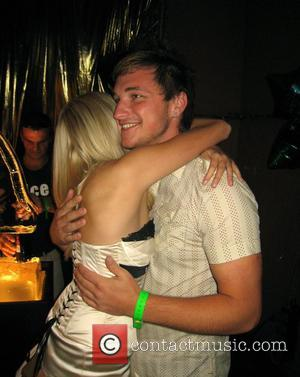 Double space rates apply Amanda Marchant and Liam McGough Big Brother 8 wrap party held at EGG Nightclub - Inside...