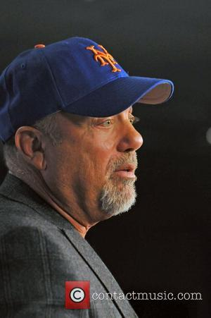 Billy Joel Mets press conference for 'The Last Play at Shea, From the Beatles to Billy.' Billy Joel will play...