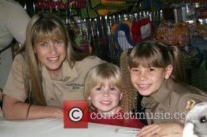 Terri Irwin, Robert Irwin and Bindi Irwin Bindi Irwin unveils her new toy line at FAO Schwarz New York City,...