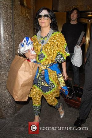 Bjork  leaving NBC Studios for 'Late Night with Conan O'Brien' New York City, USA - 27.09.07