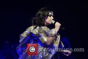 Bjork performs a special outdoor concert at Sydney Opera House as part of the annual Sydney Festival Sydney, Australia -...