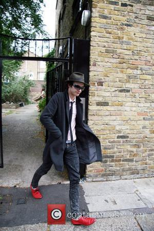 Blake Fielder-Civil leaving his house London, England - 25.09.07