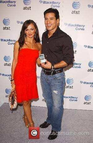 Karina Smirnoff and Mario Lopez Launch Party for The New BlackBerry Curve from AT&T - arrivals Los Angeles, California -...