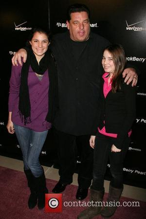 Steve Schirripa, Daughters Launch party for the new Blackberry Pearl 8130 Smartphone from Verizon at the IAC Building New York...