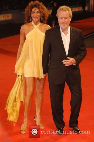 Ridley Scott and guest 64th Venice Film Festival - Day 4 - 'Blade Runner: the Final Cut' premiere - Arrivals...