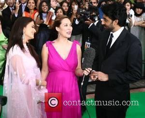 Aishwarya Bachchan, Myleene Klass and Abishak Bachchan IIFA Bollywood Awards at the Hallam Arena Sheffield, England - 09.06.07