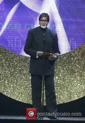 Amitabh Bachchan Indian International Film Awards (Bollywood Oscars) - Inside show at the Hallam FM Arena Sheffield, England - 09.06.07