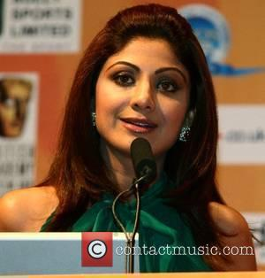 Shilpa Shetty at the Bollywood awards press conference at Leeds town hall Leeds, England - 07.06.07