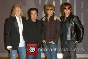 Bon Jovi Photocall  David Bryan, Tico Torres, Jon Bon Jovi and Richie Sambora  at the O� Arena in...
