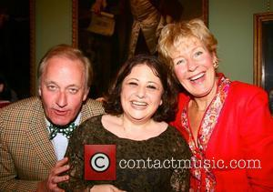 Neil Hamilton, Juliet Solomon and Christine Hamilton at the book launch party of 'The Book of Regrets' compiled by Juliet...