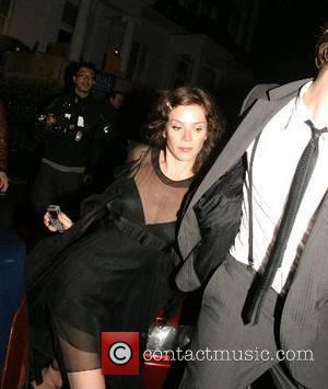 Anna Friel leaving Boujis Nightclub with a mystery man London, England - 17.05.07