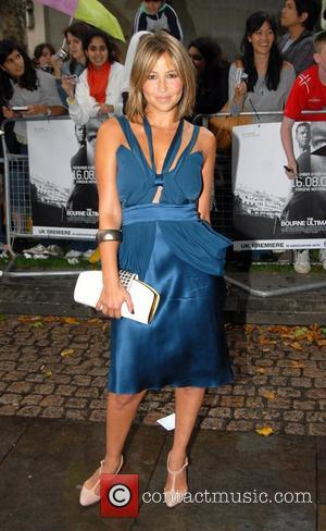 Rachel Stevens The UK film premiere of 'The Bourne Ultimatum' at The Odeon in Leicester Square - Arrivals London, England...