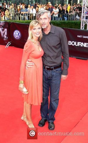 Tanja Buelter and boyfriend Nenad Drobnjak German premiere of