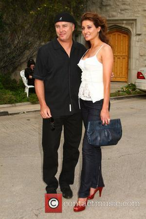 William Petersen and guest Much Love's Bow Wow Wow Animal Rescue Benefit at the Playboy Mansion - Arrivals Los Angeles,...