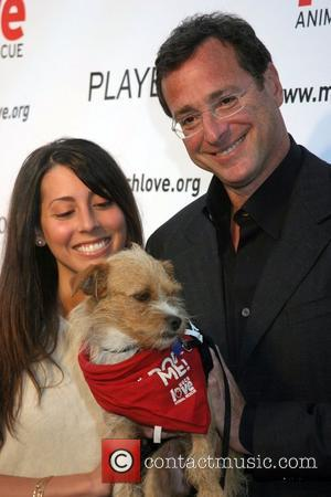 Bob Saget and guest Much Love's Bow Wow Wow Animal Rescue Benefit at the Playboy Mansion - Arrivals Los Angeles,...