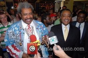 Don King All Loved Up At Trump Wedding