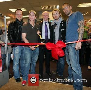 Mikey Graham, Keith Duffy, Ronan Keating and Shane Lynch