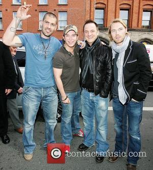 Shane Lynch, Keith Duffy and Ronan Keating