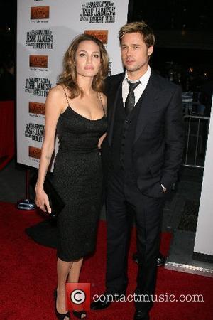 Angelina Jolie and Jesse James