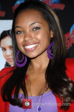 Logan Browning Stars of the new Lionsgate Family comedy Bratz  stop by Planet Hollywood Times Square  to donate...
