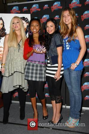 Skyler Shaye, Logan Browning, Janel Parrish and Nathalia Ramos Stars of the new Lionsgate Family comedy Bratz  stop by...
