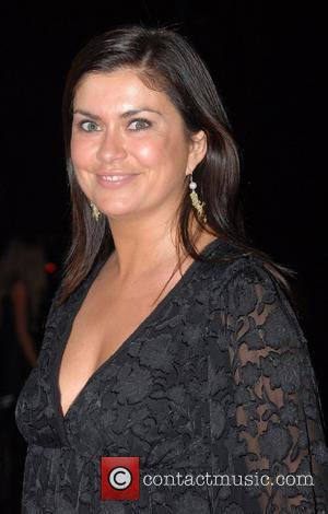 Amanda Lamb Breast Cancer Care 2007 Catwalk Fashion Show held at Grosvenor House Hotel - Arrivals London, England - 03.10.07