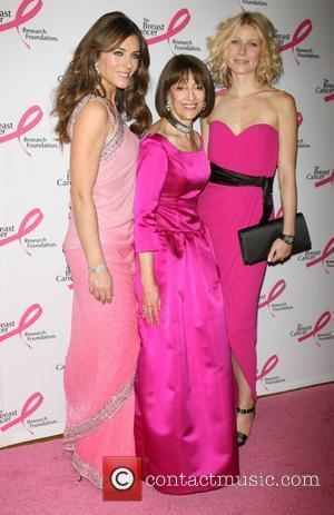 Elizabeth Hurley, Evelyn Lauder and Gwyneth Paltrow