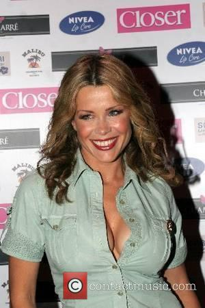 Melinda Messenger arrives at Brian Friedman's Birthday at the Punk club London, England - 07.06.07