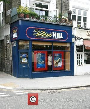 The William Hill bookmakers visited by Brian McFadden London, England - 05.06.07