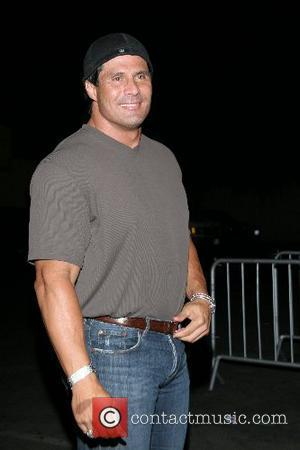 Jose Canseco Birthday Celebration for Brian Wallos, founder of Bench Warmer Trading Cards at AREA nightclub Los Angeles, California -...