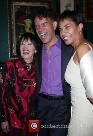 Chita Rivera, Brian Stokes Mitchell and Allyson Tucker