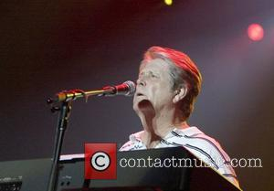 Brian Wilson of the Beach Boys performs a free concert live at The Domain, as part of the annual Sydney...