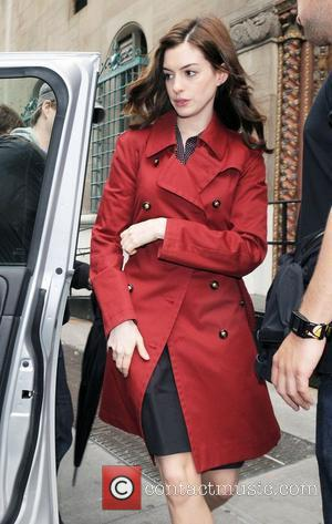 Hathaway Has To Fight Off Amorous Leading Men