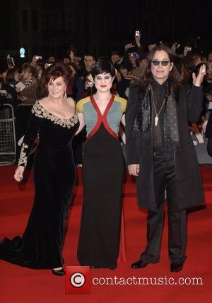 Sharon Osbourne, Kelly Osbourne and Ozzy Osbourne 2008 BRIT Awards - Arrivals at Earls Court London, England - 20.02.08