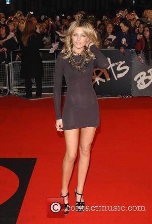 Abigail Clancy Brit Awards held at Earls Court - Arrivals London, England - 20.02.08