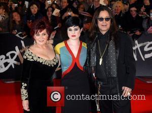 Sharon Osbourne, Kelly Osbourne, Ozzy Osbourne The Brit Awards 2008 held at Earls Court - Arrivals London, England - 20.02.08