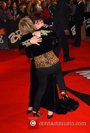 Lulu, Sharon Osbourne The Brit Awards 2008 held at Earls Court - Arrivals London, England - 20.02.08