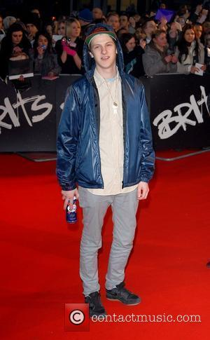 Jamie T The Brit Awards 2008 Earls Court , London, England.