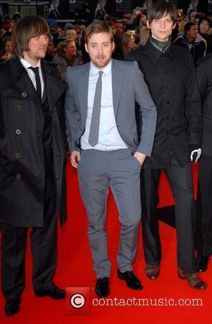 Kaiser Chiefs The Brit Awards 2008 Earls Court , London, England.