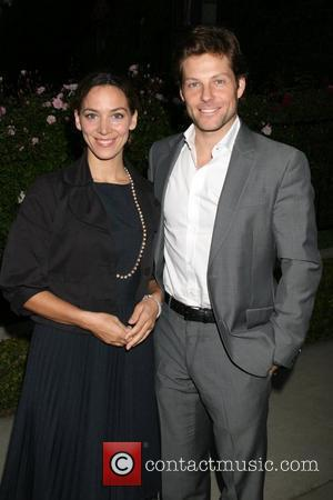 Jamie Bamber and Kerry Norton Champagne Launch of BritWeek 2008, held at the British Consul General's Residence - Arrivals Los...