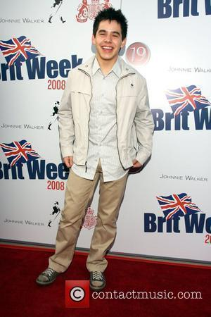 David Archuleta Champagne Launch of BritWeek 2008, held at the British Consul General's Residence - Arrivals Los Angeles, California -...